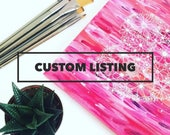 Custom listing for Pebble & Lace