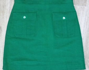 Straight skirt with pockets size 38
