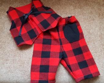 Infant's Pants & Vest