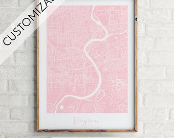 Custom Map, Custom Map Print, Custom Print, Minimalist Map, Home Map, City Map Print, Modern Map, Modern Map Print, Minimalist City Map