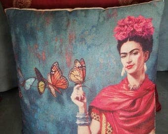 Frida Pillow Cover/ Frida Pillow