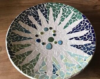 Gaudi style mosaic tray