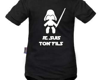 Star Wars onesie: I am your son