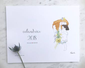 Calendier - Calendar 2018