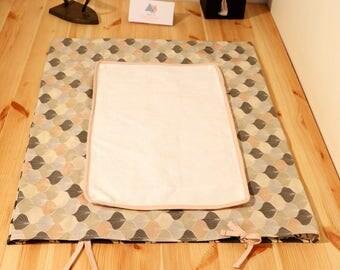 Travel changing mat