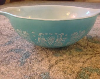 Pyrex Rise and Shine large mixing bowl #444 4qt