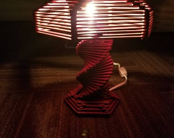 Little popsicle stick Lamp