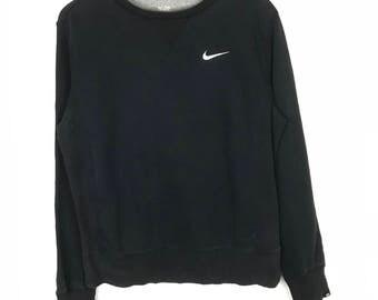 Rare!!! Vintage!!! Nike Sweatshirt Pullover Small Logo Embroidery