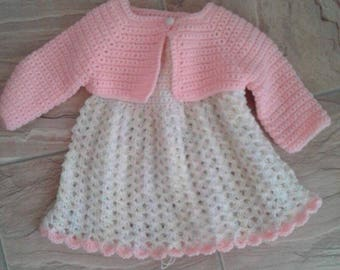 Baby Dress with Sweater