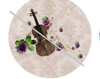 20mm, violin, music and roses