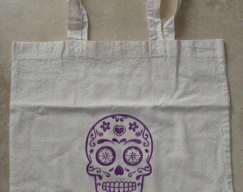 Personalized cotton tote bag