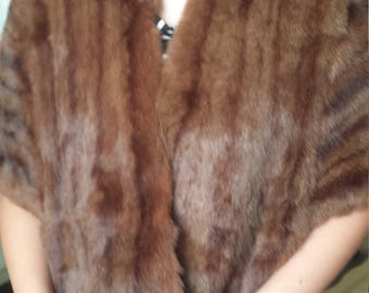 Vintage Fur Shawl c. 1950s