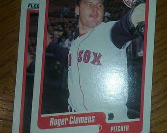 1990 Fleer #271 Roger Clemens