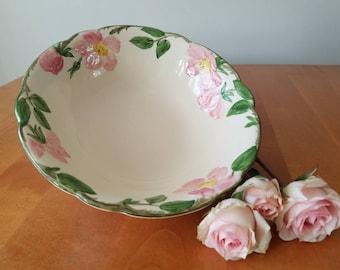 Franciscan; Desert Rose; vintage bowl