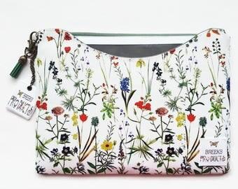 Custom iPad 9.7 inch sleeve,Botanical dust sleeve,phone and tablet covers,Samsung sleeves all sizes