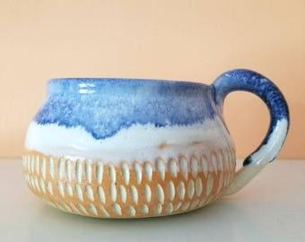 Watercolor Drip Mug
