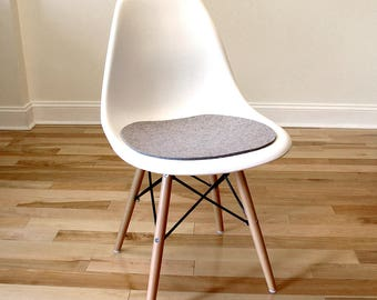 Seat pad - wool felt - perfect for Eames-style side chairs