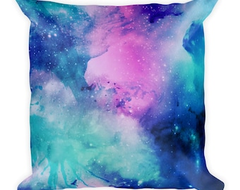 Pillow Covers, Pillows, Home Decor, Cosmic, Galaxy, Stars, Space