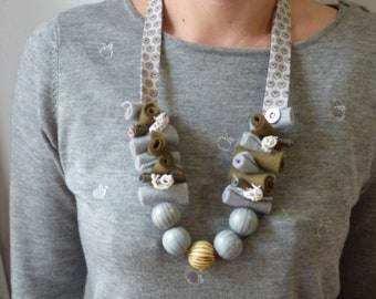 Cotton necklace