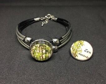 Zen attitude with 2 snap bracelet
