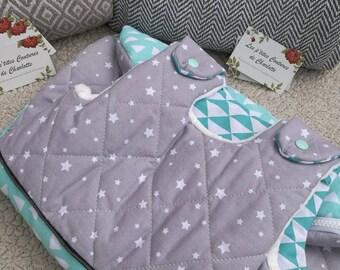 Winter sleeping bag 0/6 month old inner fabric blanket