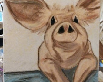 The Muddy Pig Painting