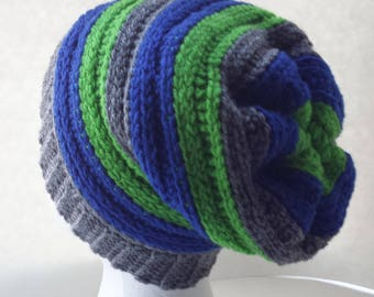 Slouchy hat, Women's slouchy hat, Teens slouchy hat, Men's slouchy hat, Pink Slouchy hat, Seahawks hat