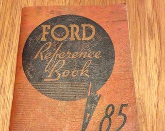 1937 Ford car manual