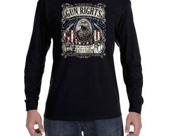 Protect our Gun Rights 2nd Amendment Long Sleeve T-shirt