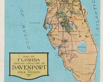 Polk County Etsy - Polk us map