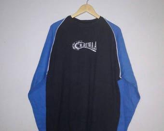 Vintage / kaiwaa / spell out / multicolour / crewneck sweatshirts / x large / 2x large / size