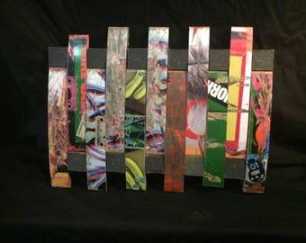 Sk8boardcreationz Used Skateboard Wall Art