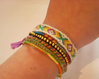 "Handmade colorful ""cuff"""