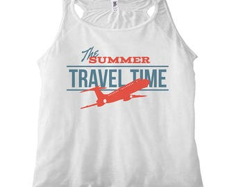 Women's Tank Top Travel Time