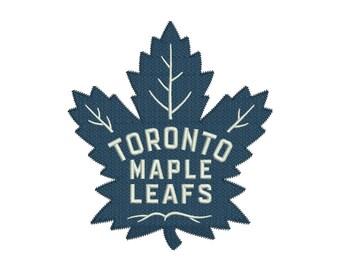 Toronto Maple Leafs Embroidery Design - 5 SIZES