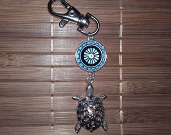 Turtle keychain or bag charm!