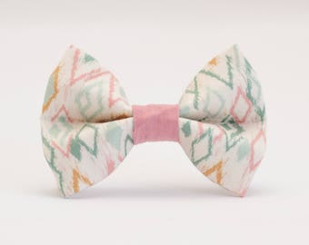 The Dapper Diamond Bow Tie (Light)