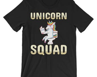 Unicorn Squad Shirts - Unicorn Squad, Unicorn Birthday Shirt, Funny Unicorn Svg, Funny Unicorn Shirt, Rainbow Dabbing Shirt Girl Boy Tshirt