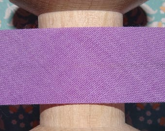 Bias purple sewing, sold by the yard - 304 88.