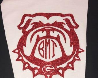 Georgia Bulldog Monogram Shirt