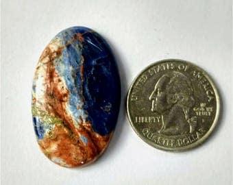 36.50 x 23.25 mm,Ovel Shape Sodalite,Attractive Sodalite /wire wrap stone/Super Shiny/Pendant Cabochon/Semi PreciousGemstone,silver jewelry