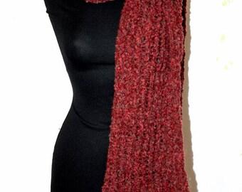 Bouclé wool scarves