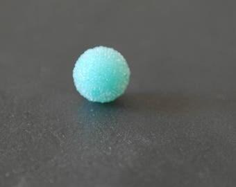 Pearl effect sugar color Aqua 13 mm