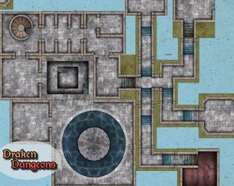 Draken Dungeon   Main Dungeon Tiles  917