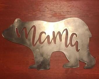 Cute Mama Bear Sign