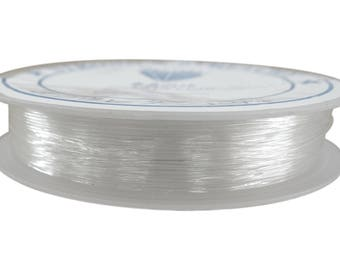 5 meters wire 0.8 mm crystal color nylon coil