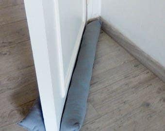 Roll down door, double door DOUBLE thick medium gray fabric for door to 73 cm