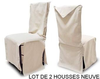 housse de chaise etsy. Black Bedroom Furniture Sets. Home Design Ideas