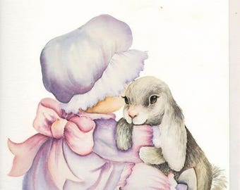 Images for 3D picture. RABBIT and baby