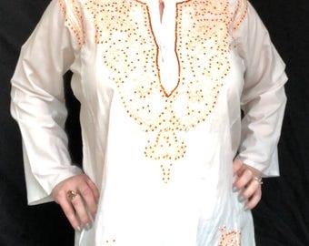 Handmade Sequin Tunic Top